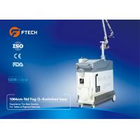Quality Medical Grade Q Switched ND YAG Laser Machine For Speckles Treatment Pain Free for sale