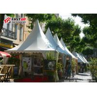 Quality Deluxe Steel Frame Big Festival Tents , Diameter 12M Commercial Event Tents for sale