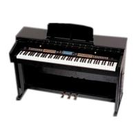 Buy Light Rosewood Multifunctional 88 Key Digital Piano With Large Screen Display DP8808A at wholesale prices