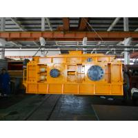 Quality Hydraulic Double Roller Stone Crusher Machine Yellow High Efficiency for sale