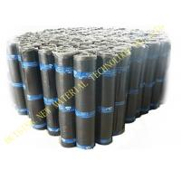 Quality Flat Self Adhesive Roofing Polyurethane PU Waterproof Membrane Material Black Color for sale