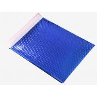 Buy cheap Aquamarine Paper Bubble Mailers , Rigid Flat Cardboard Mailers 380x330 #B4 from wholesalers