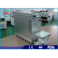 China 20w Portable Fiber Laser Marking Machine With Raycus Fiber Laser Source on sale