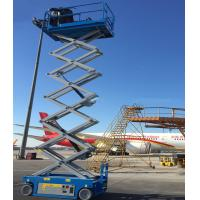 Buy cheap Small Hydraulic Man Lift Equipment For Indoor And Outdoor Construction from wholesalers