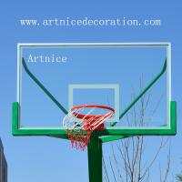 Tempered glass for basketball board, toughened glass for basketball board,