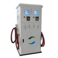 Buy cheap Two Noozle CNG Dispenser For Compressed Natural Gas Filling Station Low Outlet from wholesalers