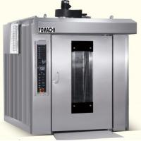 Quality Gas Rotary Rack Oven 12 Trays All Stainless Steel Body Trolley Cart Rack Oven FMX-RF12G for sale