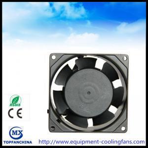Quality 80 x 80 x 38 mm computer fan cpu cooling fan metal, ball bearing 110V - 240V ac axial fan for sale