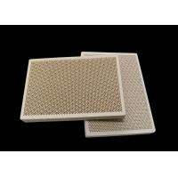 Buy cheap Porous Honeycomb Ceramic Infrared Gas Burner Plate For Oven , Customized from wholesalers