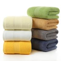 Quality Ultra - Absorbent Luxury Cotton Towels , Soft Spa Micro Bath Towel Set for sale