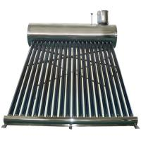 China low pressure solar water heater geyser on sale