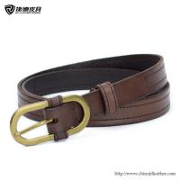 Quality Ladies Leather Belt with Oval Buckle,Leather Belt Factory,Fashion Belt,Belt OEM for sale