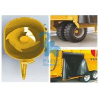 Quality Feedlot Animal Food Mixer Machine Feeder Wagons , Durable Poultry Feed Mixer Grinder for sale