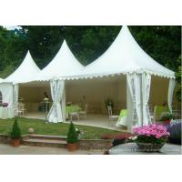 Quality White Pagoda Tents 5m * 5m UV - Resistant  Garden Wedding Reception for sale