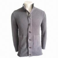 Quality Unisex Sweater, Gray, Fashionable, Made of 100% Cotton, Men's Casual Wear, Women Casual Knitted Wear for sale