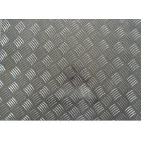 Quality 1060 1100 3003 Aluminum Checker Plate , 0.8mm- - 10mm Thickness Embossed Aluminum Sheet for sale