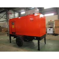Quality Rating Blushless Mobile Electric Generator , Mobile Generator Set With Cummins 6BTAA5.9-G12 for sale