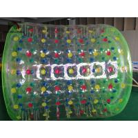 Quality Crazy fun double layered PVC / TPU Inflatable Water Toy , Interesting inflatable rollers for sale