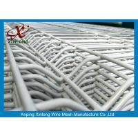 Buy cheap White Electric Galvanized Welded Wire Mesh Fence 2.0m Width For Sightseeing Zone from wholesalers