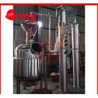Quality Semi-Automatic Commercial Alcohol Distilling Equipment 1 - 3Layers for sale