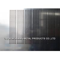 Quality 10mm Thickness Perforated SS Sheet / Stainless Steel Profiles By Laser Cutting for sale
