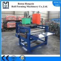 Quality Hydraulic Pump Cold Roll Forming Machine 1250mm Raw Material Width for sale