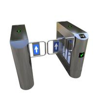 Quality Bank Swing Barrier Automatic Turnstiles RFID Swing Glass Gate For Access Control System for sale