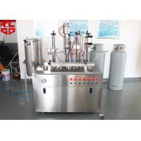 Quality Semi Automatic Hair Spray Aerosol Filling Machine 5000-8000cans/shift for sale