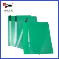 Buy PP Stationery Supplier A4 Report Cover Loose Paper Customized Transparent File at wholesale prices