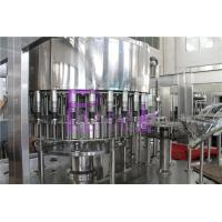 Quality Industrial Monoblock Filling Machine Semi Automatic Soft Drink Bottling Equipment for sale