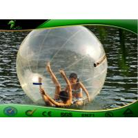 Quality Giant Human Water Walking Ball Inflatable Water Toys For Lake / Hamster Water Balls for sale
