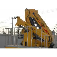 Quality Hydraulic Knuckle Boom Truck Crane With 13m Max Reach for sale