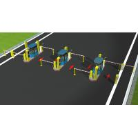 China Bar lifting Foldable Electronic  barrier gate on sale