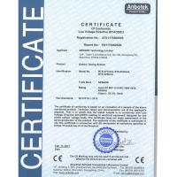 Neware Technology Limited Certifications