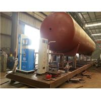 Quality hot sale CLW brand best price mobile skid lpg gas filling plant, mobile skid mounted lpg gas refilling station for sale