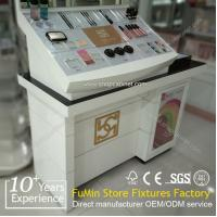 Quality wholesale cosmetic display cabinet and showcase /wood makeup cabinet for sale
