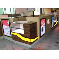 Quality Customized Color Cell Phone Display Case / Mobile Phone Display Cabinet for sale