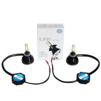 Buy Auto Parts LED Waterproof Super Bright COB LED Headlight H4 H13 H16 880 881 9004 9007 40W 12V 24V at wholesale prices