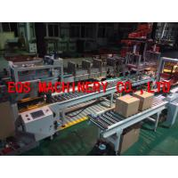 Quality 0.4KW Grasper Type Automatic Packing Machine 10-15 Cartons / Min Touch Screen Controlled for sale