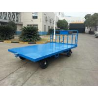 Quality Portable Airport Baggage Trailer Fool Proof Design Hitch With 3 Mm Checker Plate for sale