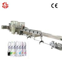 Quality Automatic Aerosol Filling Line for  Perfume / Body Spray / Deodorants for sale