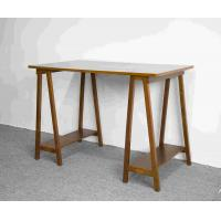 Quality Hand Finished Soild Wood Home Office Desk Workstation With Desktop panel for sale
