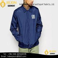 Quality Fashion Design China Mens Waterproof Jacket for sale