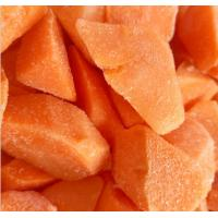 China Vitamins Contained Frozen Processed Food , Freezing Fresh Carrots IQF Technology on sale