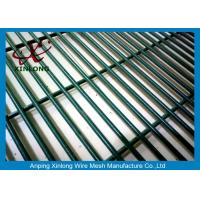 Quality 4.0mm Low Carbon Iron Wire PVC Coated 358 Security Fence For Prison for sale