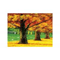Quality Hotel Landscap Image 3D Lenticular Printing Service PET Printing Stock Picture for sale