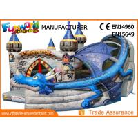 Buy cheap Commercial Inflatable Bounce House For Kids Customized Size / Color from wholesalers