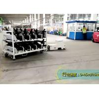 Quality Towing AGV Guided Vehicle , AGV Magnetic Tape Two Tons Loading For Dolly Movement for sale