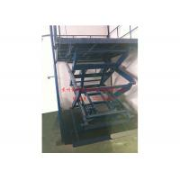 Quality Scissor Type Hydraulic Ladder Lift , Mobile Lift Platform For Aerial Working for sale