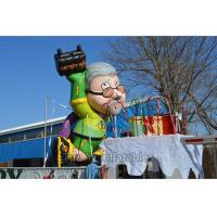 Quality 4m Decorative Inflatable Cartoon Characters Colorful With Durable PVC Tarpaulin for sale
